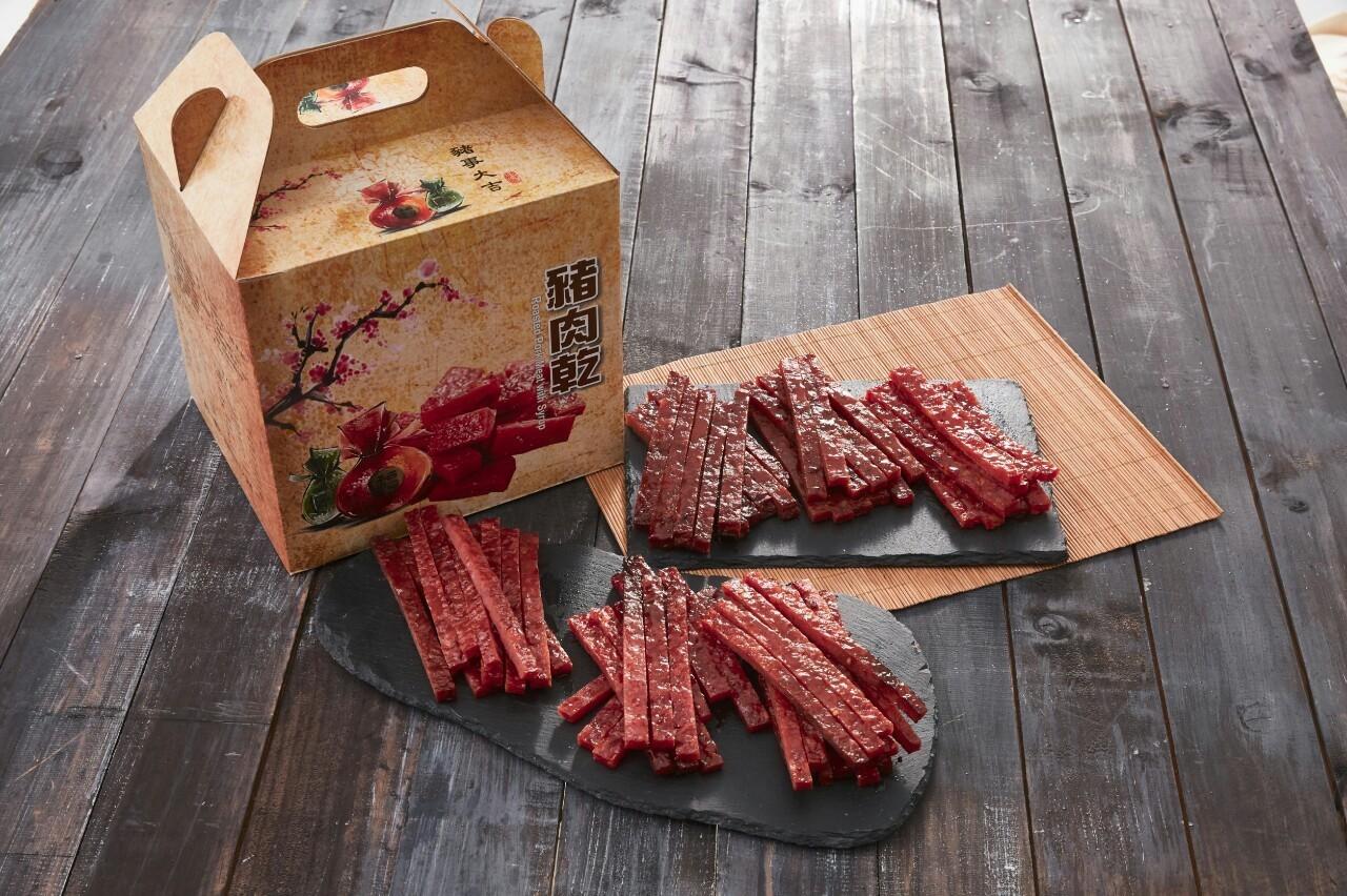 【糖的魔術師】豬肉乾~經典大禮盒